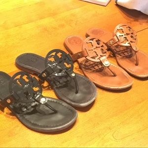 2 Pairs Tory Burch Sandals!!!
